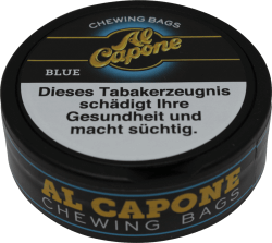 Al Capone Chewing Bags Blue