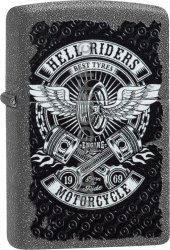 Zippo 60004102 #211 Hell Riders Motorcycle