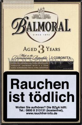 Balmoral Aged 3 Years Coronita