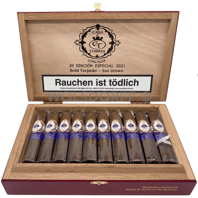 Casa de Torres Bold Torpedo Sun Grown Limited Edition 2021