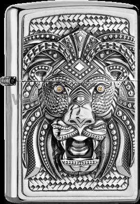 Zippo 2005906 #200 Art Lion Emblem