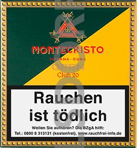 Montecristo Open Club Zigarillos 20er