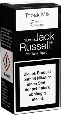 Jack Russell Liquid No2 Tobak Mix MHD 15.01.2019