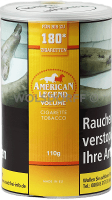 American Legend Volumentabak 110 g