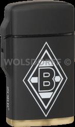 Feuerzeug Rubber Laser schwarz Borussia Mönchengladbach