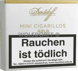 Davidoff Mini Cigarillos Gold 20er