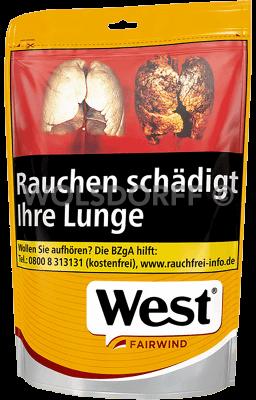 West Yellow Volume Tobacco Beutel 120 gr