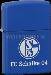 Zippo Royal blue FC Schalke 04