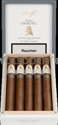 Davidoff Winston Churchill Limited Edition Toro 2021