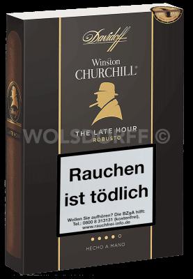 Davidoff Winston Churchill The Late Hour Robusto