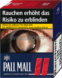Pall Mall Red Giga (8 x 33)