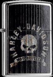 Zippo 60000088 #207 Harley-Davidson® Metal Skull