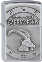 Zippo 2002081 #200 Capricornus Emblem
