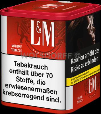 L&M Volume Tobacco Red M Dose 50 g