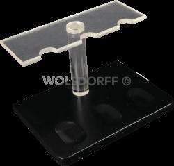 Guy Janot Pfeifenständer schwarz Plexiglas 3-er (7123)