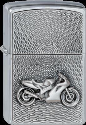 Zippo 2000225 #200 Motor Bike Emblem