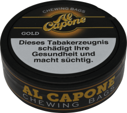 Al Capone Chewing Bags Gold