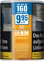 Denim Volumen Tabak Dose 65 g