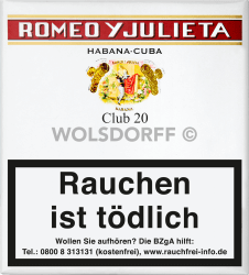 Romeo y Julieta Club 20er