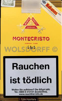 Montecristo No. 3
