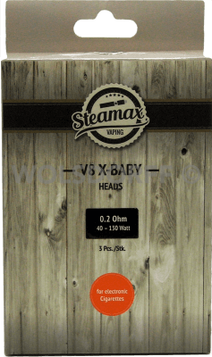 Steamax V8 X-Baby T6 Sextuple 0,2 Ohm 3er