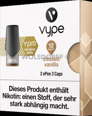 Vype ePEN 3 vPRO CAPS Infused Vanilla 2er