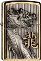 Zippo 2004517 #207G Golden Dragon