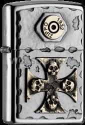 Zippo 2004746 #207 Skull Cross