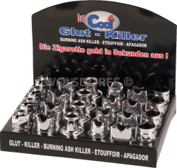Glut Killer chrom offen sortiert Modelle