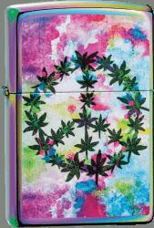 Zippo 60004189 #151 Leaf and Peace Design
