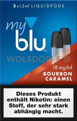 myblu Liquidpod Bourbon Caramel