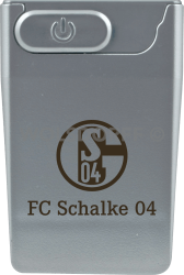 USB Card Lighter silber FC Schalke 04