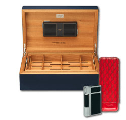 Davidoff Humidor Ambassador Leather Set 3-teilig