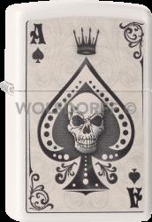 Zippo 60001386 #214 Ace Skull Card