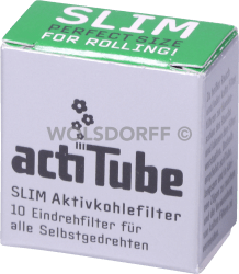 actiTube Slim Aktivkohlefilter 6,9mm
