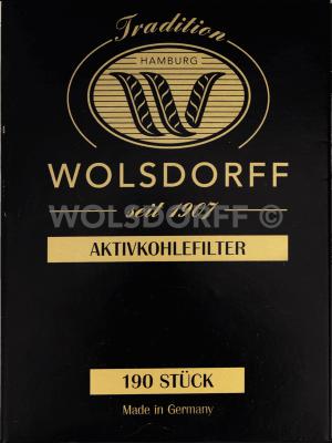 WOLSDORFF Aktivkohlefilter 190St