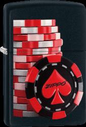 Zippo 60003315 #218 Poker Coins