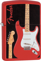 Zippo 60003526 #233 Fender™ Guitar red