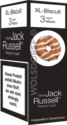 Jack Russell Liquid No 21 XL-Biscuit