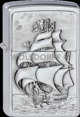 Zippo 1300154 #200 Pirate's Ship Emblem