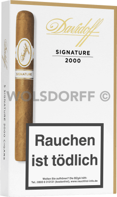 Davidoff Signature No. 2000