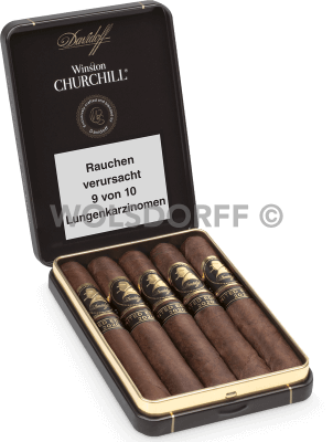 Davidoff Winston Churchill Late Hour Petit Panatela Limited Edition 2020
