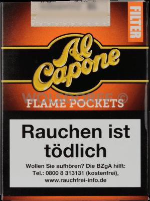 Al Capone Pockets Flame Filter 18er