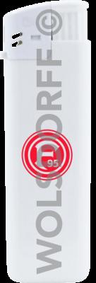 Einwegfeuerzeuge Prestige Fortuna Düsseldorf Logo