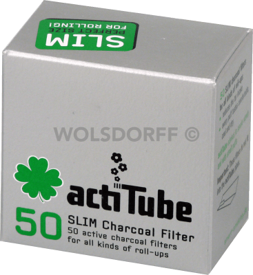 actiTube Slim Aktivkohlefilter 7mm