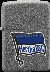 Zippo Iron Stone Hertha BSC Berlin