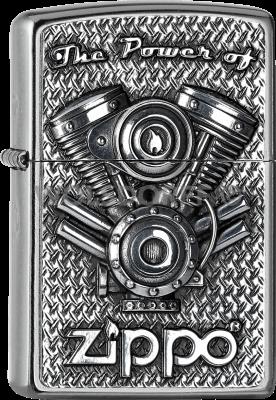 Zippo 2005714 #207 The Power of V Motor