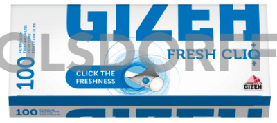 Gizeh Fresh CliQ Hülsen 100er