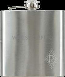 Taschenflasche Borussia Mönchengladbach Logo graviert
