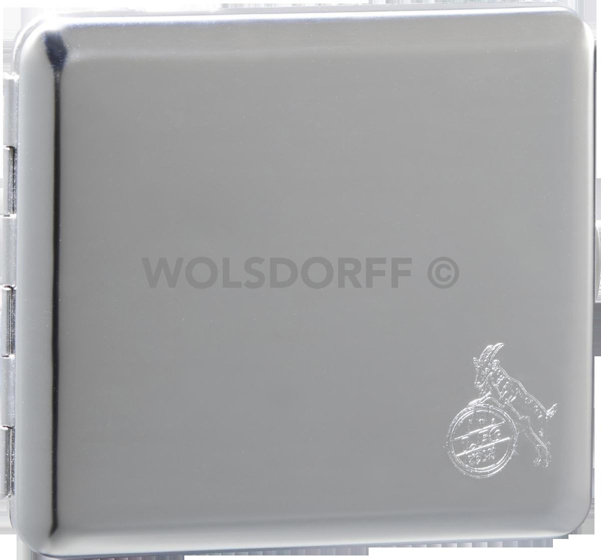 FC Köln Zigarettenbox chrom 1